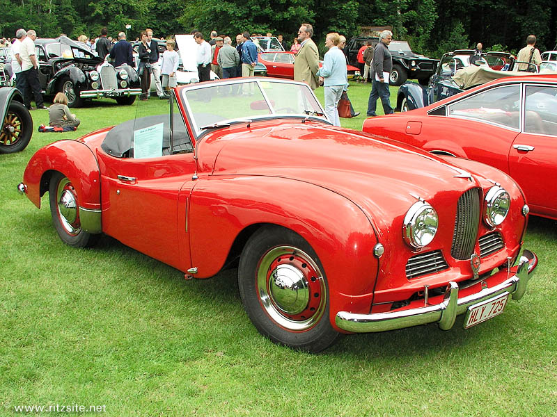 1952 Jowett Jupiter Mk I - factory roadster body