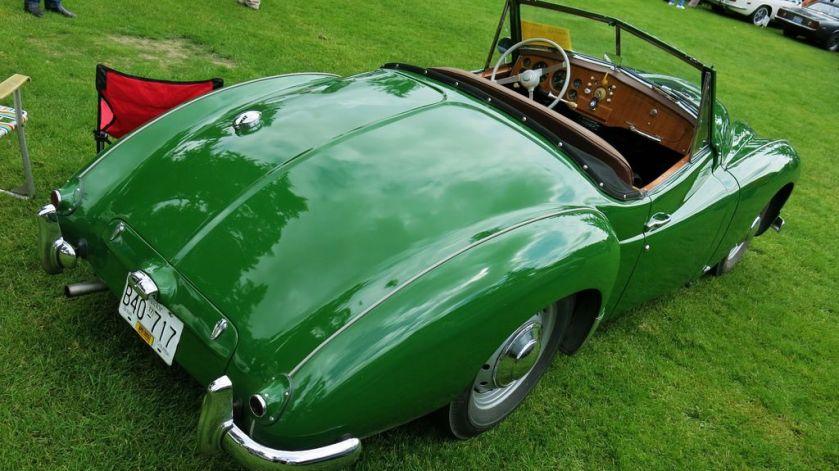 1952 Jowett Jupiter Roadster a