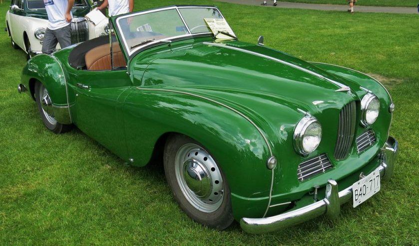 1952 Jowett Jupiter Roadster