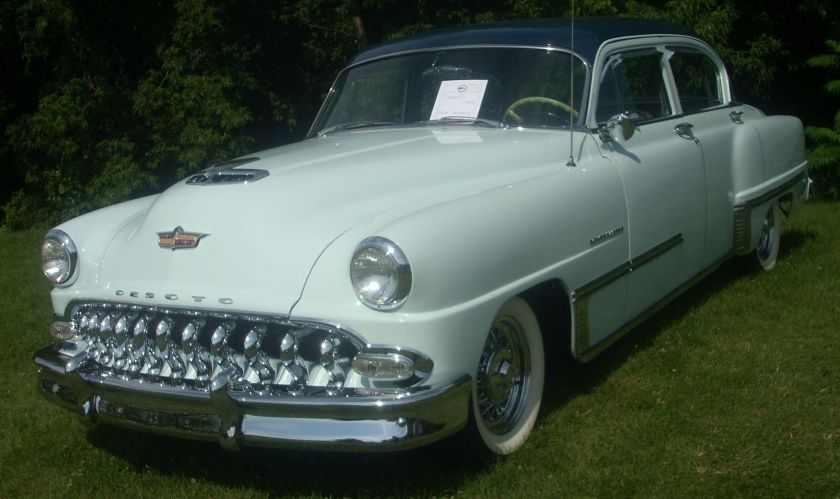 1953 DeSoto Powermaster photographed in Laval, Quebec, Canada