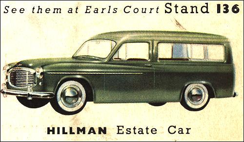 1953 hillman minx 7 estate