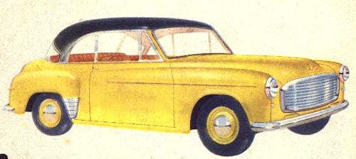 1953 hillman minx phase 6 coupe