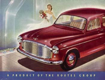 1953 Hillman Minx Phase 6