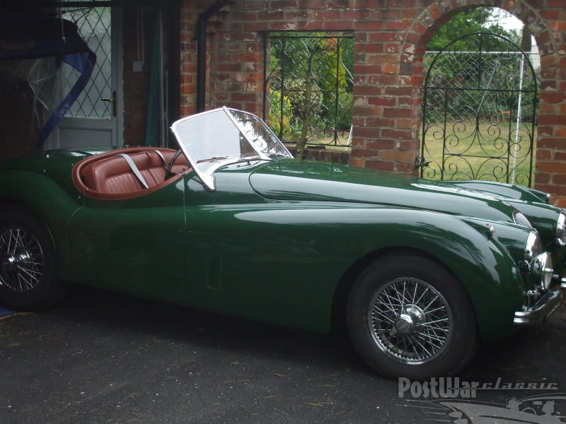 1953 Jaguar XK 120 OTS ROADSTER