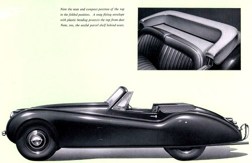 1953 jaguar xk120dhc