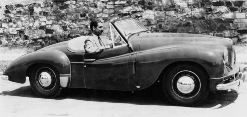 1953 Jowett Jupiter F.Grounds, Monte Carlo