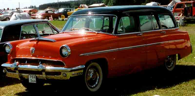 1953 Mercury Monterey station wagon 8 pass.