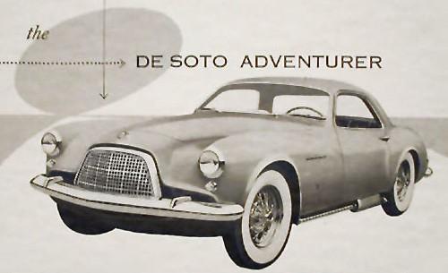 1954 de soto adventurer I