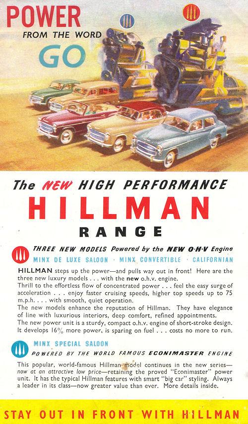 1954 hillman minx ph8
