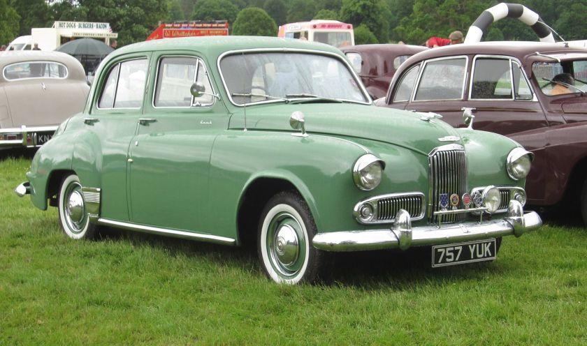 1954 Humber Hawk V 2267cc