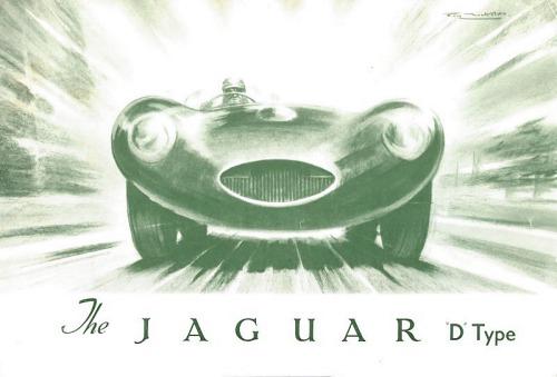 1954 jaguar d 1 l