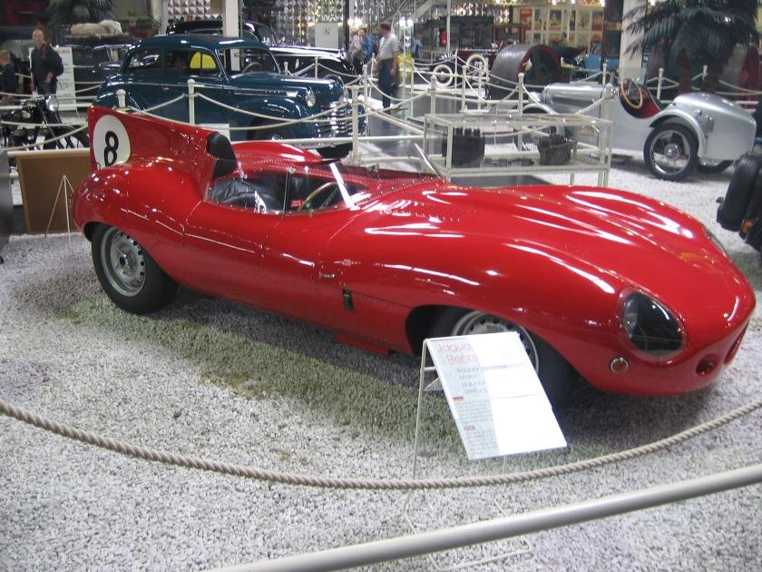 1954 Jaguar D-Type (2)