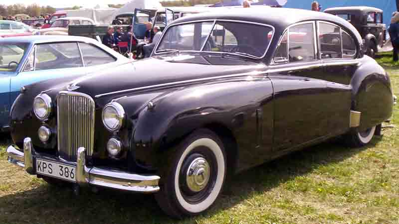 1954 Jaguar Mark VII 4-Door Saloon