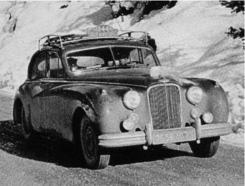 1954 jaguar mk VII rmc