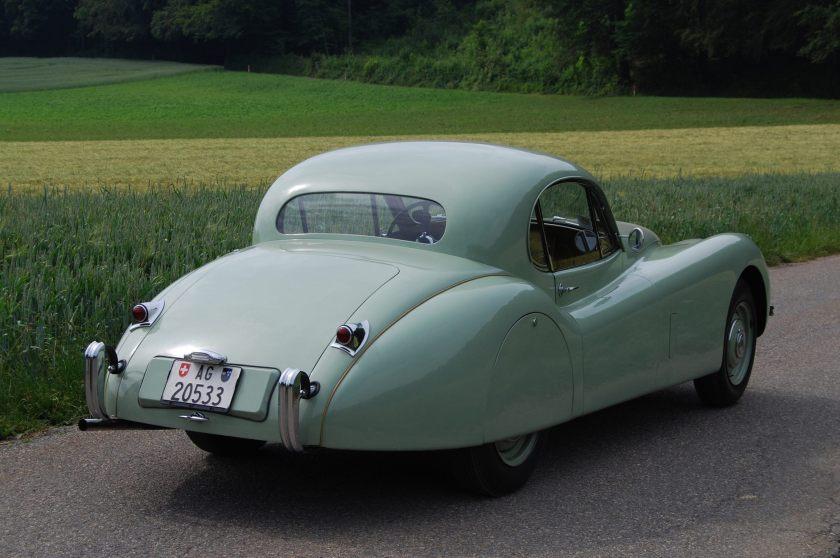 1954 Jaguar XK 120 FHC