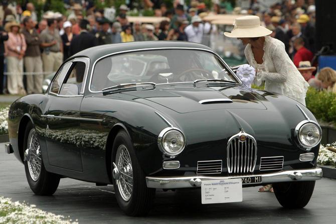 1954 Jaguar XK140 Zagato Coupe