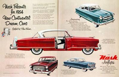 1954 Nash ad