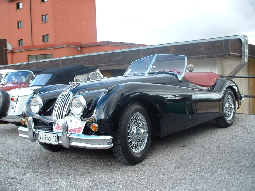 1954 XK140 open two-seater or roadster