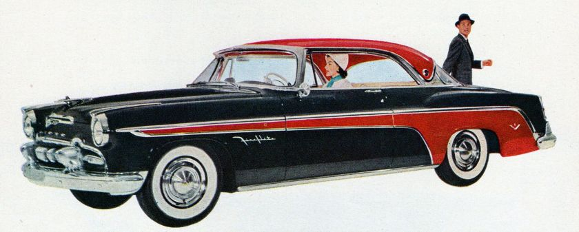 1955 DeSoto Fireflite Sportsman ad