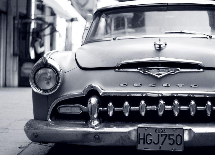1955 DeSoto in Havana, Cuba