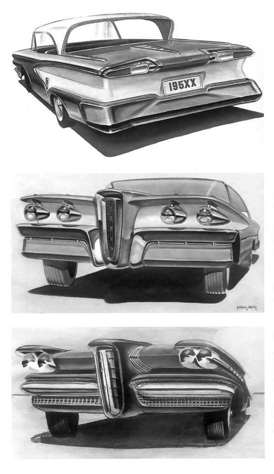 1955 Edsel Concepts