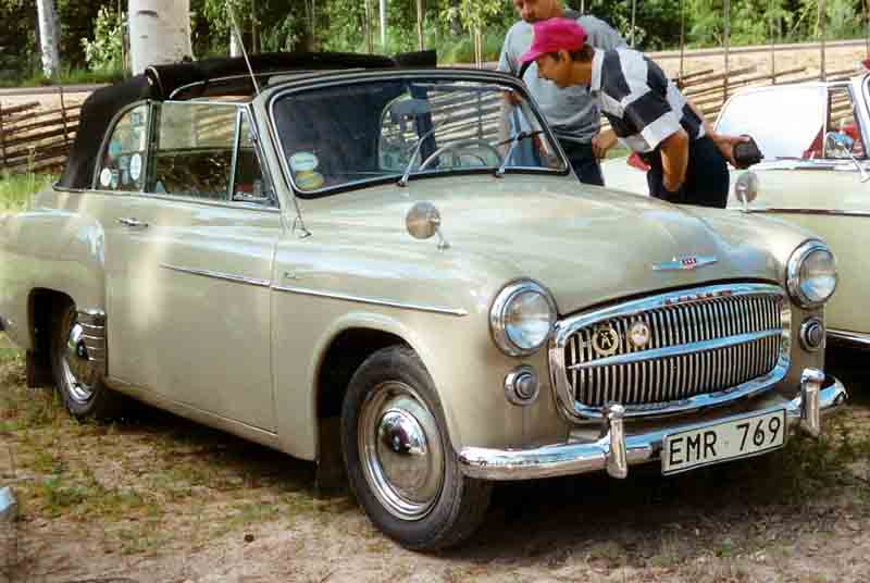 1955 Hillman Minx Mark VIII Cabriolet