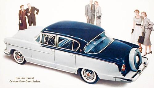 1955 hudson hornet sedan