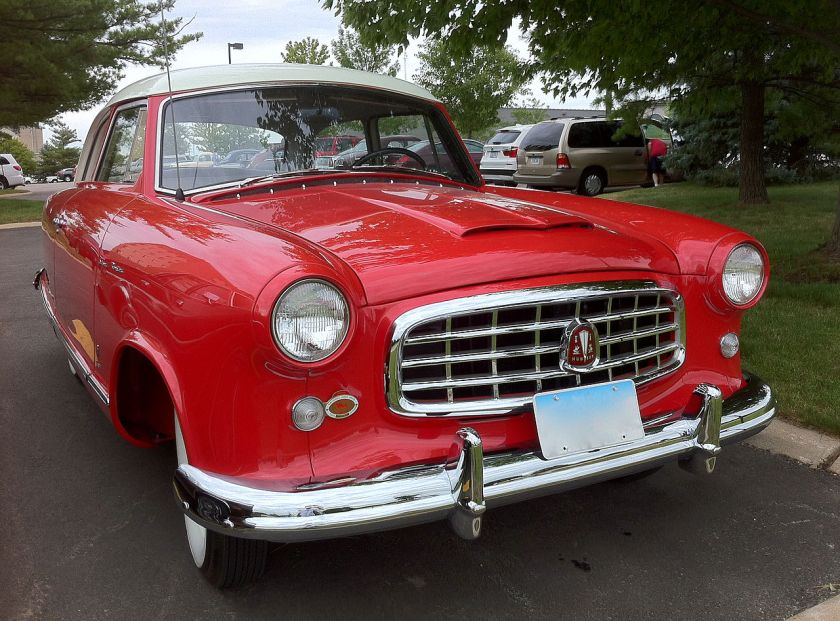 1955 Hudson Rambler Super 2-door