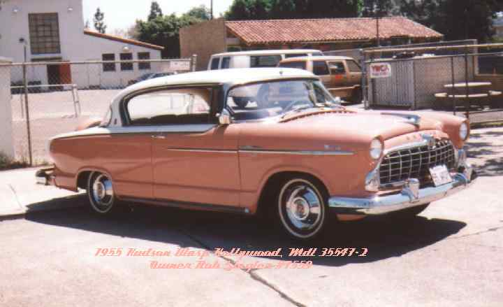 1955 Hudson Wasp, 2 Dr. Hardtop, 6 Cylinder, Twin-H Power, Hydramatic