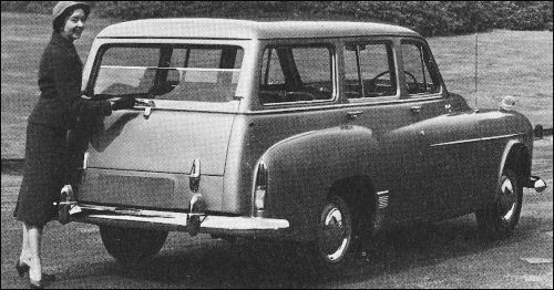 1955 humber hawk estate
