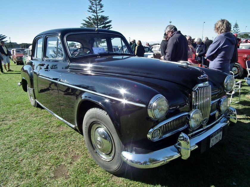 1955 Humber Super Snipe Mk IV sedan