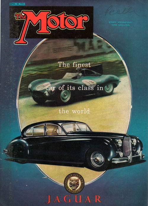 1955 jaguar finest april