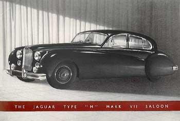 1955 Jaguar Mk VII Type M