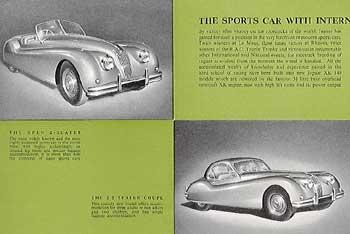 1955 Jaguar XK 140 Drop head coupe + fixed head coupé