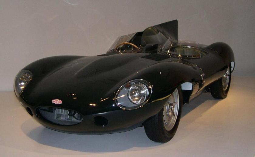 1955 Jaguar XKD 34 left