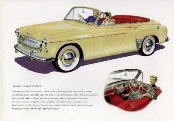 1955+56 Hillman Minx Phase 8  8a +b