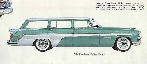 1956 Desoto Firedome 4dr Station Wagon