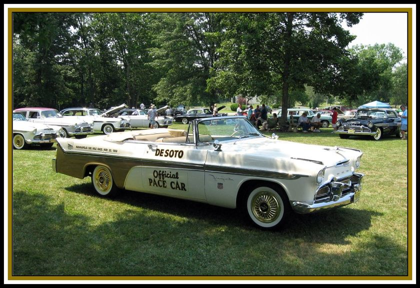 1956 DeSoto Fireflite Convertible Pace Car