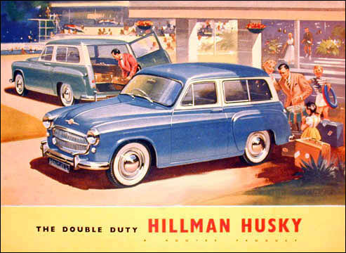 1956 hillman husky