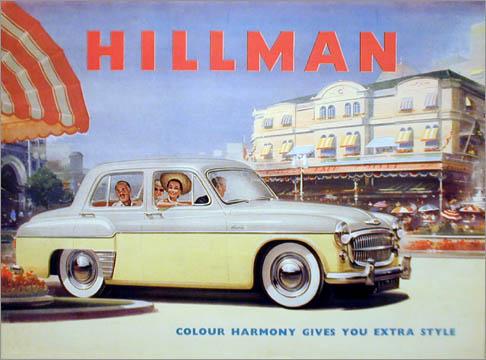 1956 hillman minx ph8a