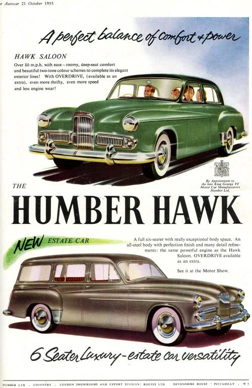 1956 humber hawk mk VI
