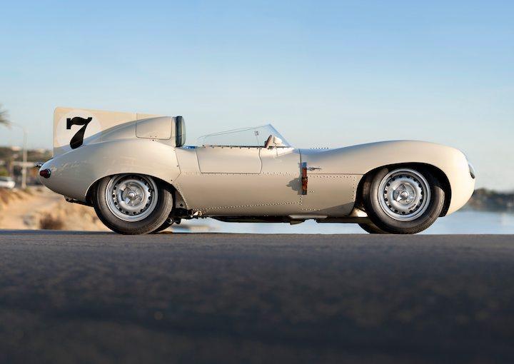 1956 Jaguar DType Side
