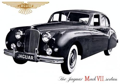 1956 jaguar mk7 us ed gold 3 l