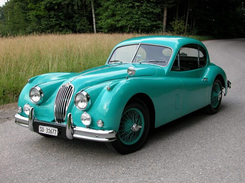 1956 Jaguar XK 140 SE FHC Arbour Green