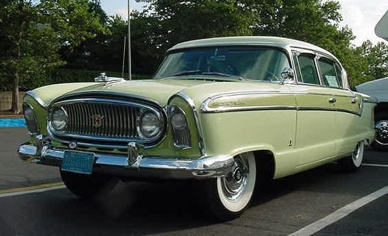 1956 Nash Ambassador sedan