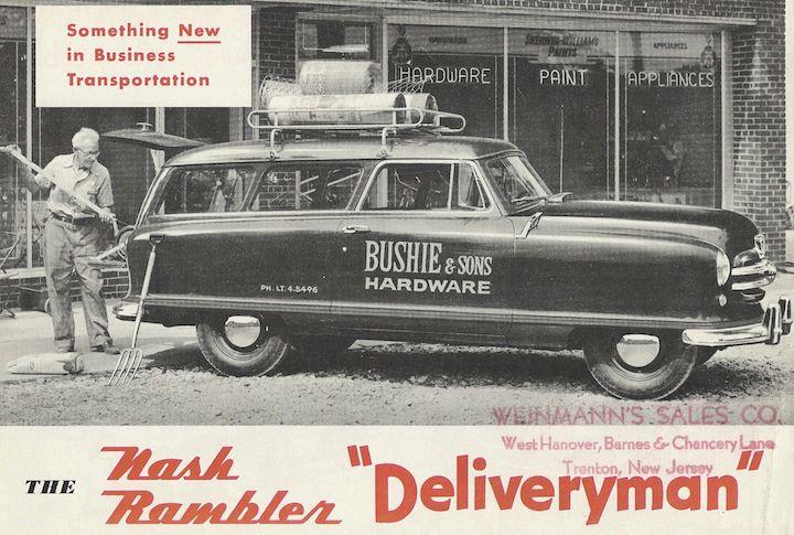 1956 Nash Rambler Deliveryman