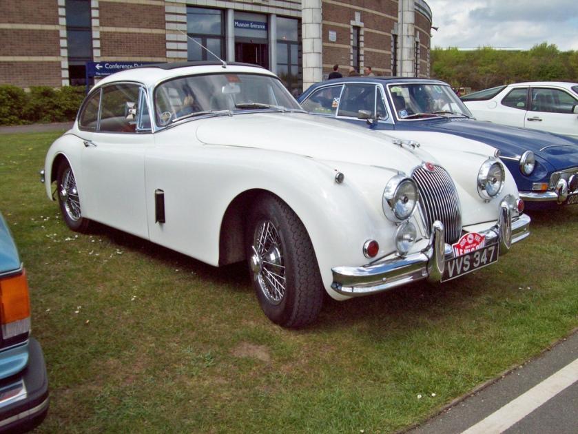 1957-61 Jaguar XK 150 FHC Engine 3442 cc S6 DOC