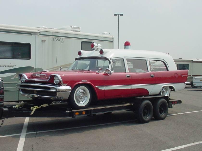 1957 Desoto Ambulance