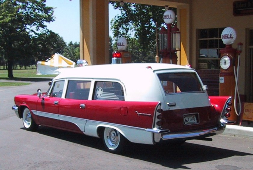 1957 DeSoto Firesweep Ambulance