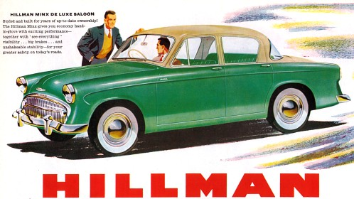 1957 hillman minx s1